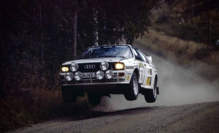 1000 Lakes Rally 1983 Lasse Lampi.  #wrc #wrcofficial #rally #rallye #audi #audiquattro #suomi #motorsport #pictureoftheday #sport