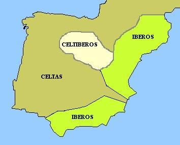 Celtiberian Spain (Span celtic word meaning key)