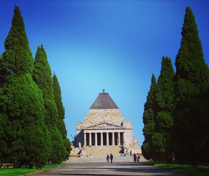 The Shrine of Remembrance #viaggioliberamente #shrineremembrance #melbourne #australia