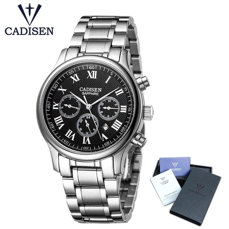 40.00$  Buy now - http://alidtx.shopchina.info/1/go.php?t=32813919733 - CADISEN fashion leisure and business classic  men watch sports watches multifunction treadmill wrist quartz watch waterproof 30M  #bestbuy