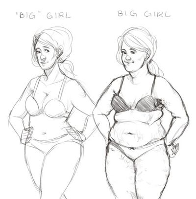 597 best body confidence images on pinterest social for How to draw a body tumblr