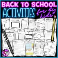 Tutor time activities for secondary students! Beginning of the year / back to school time is a great opportunity to encourage students to begin the new school year on the right foot. If you want some fun and quality back to school activities to use with y