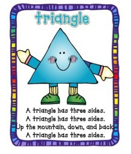 Triangle Song Poster link also for other shapes