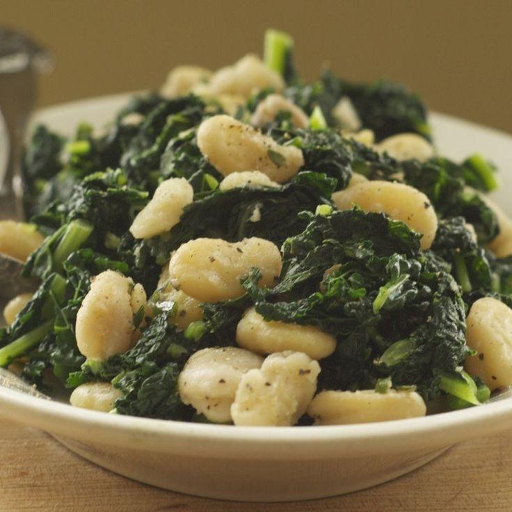 Lacinato Kale and Fava Beans Recipe on Food52 recipe on Food52