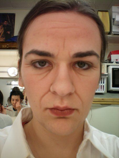middle age makeup | Middle Aged Makeup by emmers591