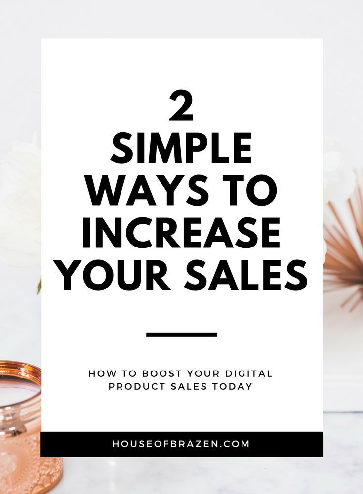 Wondering how you can boost your online digital product sales? These two SUPER SIMPLE tips will help you increase your income today!