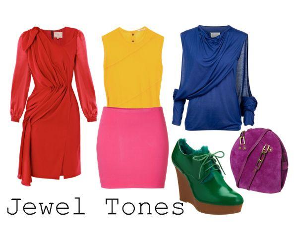 Jewel tones style inspiration pinterest - Jewel tones color wheel ...