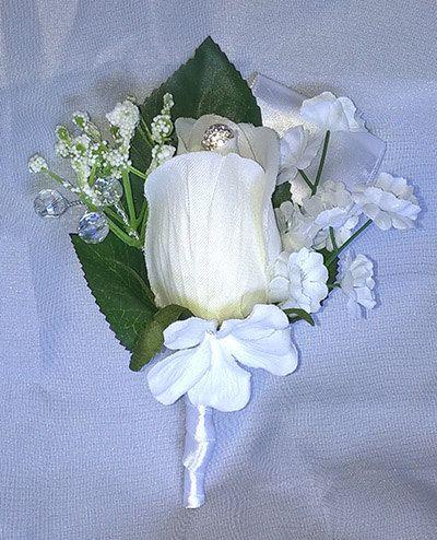 Weding boutonniere by Weddingcraftlife on Etsy