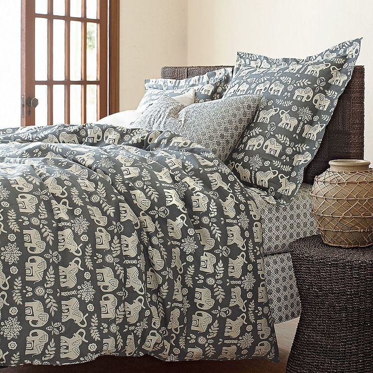 Caravan Cotton Percale Duvet Cover / Comforter Cover | The Company Store