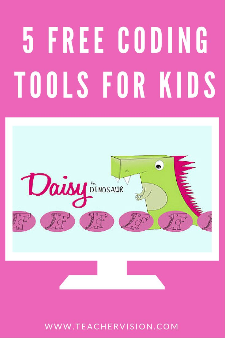 Check out Daisy the Dinosaur and 4 more free coding tools for kids (Ages 5+)   Hour of Code Apps  #HourOfCode #CSEdWeek