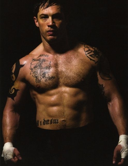 Tom Hardy body...