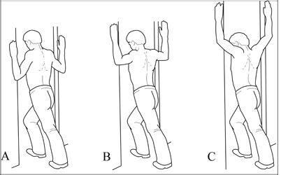 #Shoulder stretches for shoulder pain ..