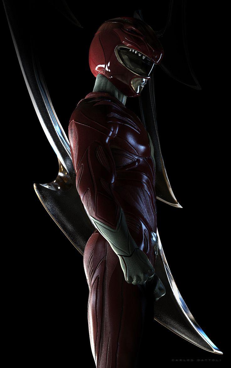 ArtStation - Red Ranger, Carlos Dattoli