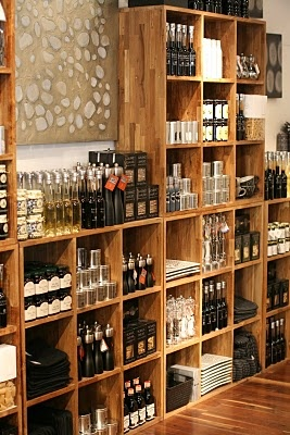 For walk- in pantry? This must be a Williams -Sonoma or Dean & Deluca. Love those places!