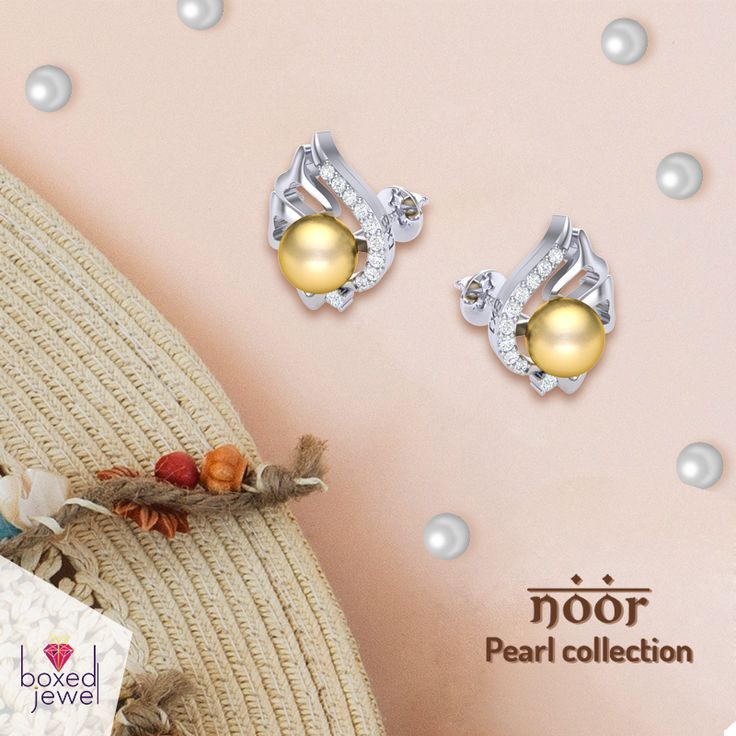 The #Pearl #Earrings Fever is here! Hot looking pearl collectives for the dashing ladies! More at www.boxedjewel.com #NoorCollection