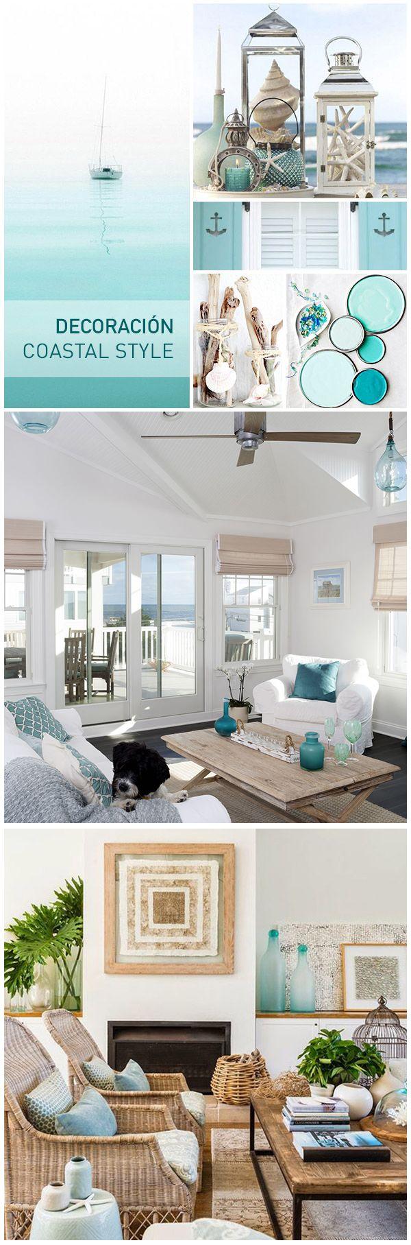 The coastal style, el estilo decorativo inspirado en las aguas turquesas