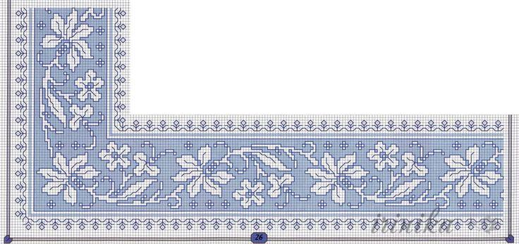 Gallery.ru / Фото #40 - цветы. схема на 1 лист - irinika