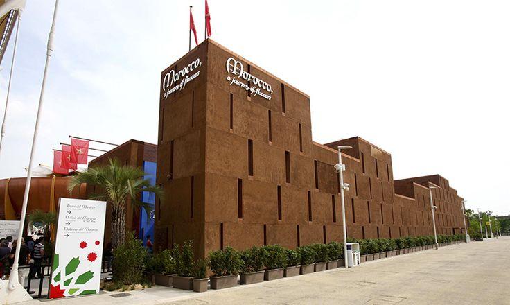 Padiglione Marocco visita news dettaglio