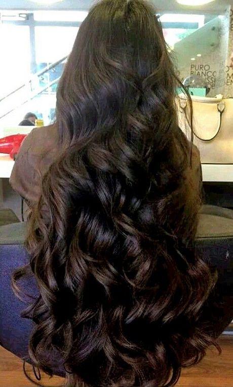 Lange dicke haare frisur