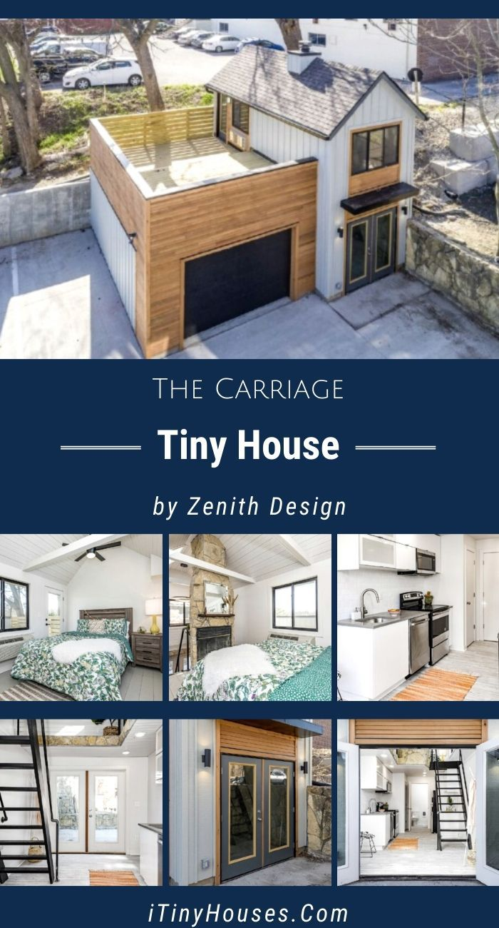 The Carriage House Is A Unique Tiny Home From Zenith Design Build Small House Plans Sustainable House Design Tiny House Inspiration