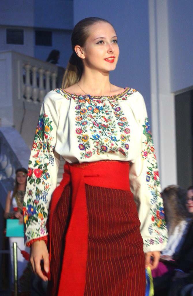 Ukranian style - Ukrainian Beauty.