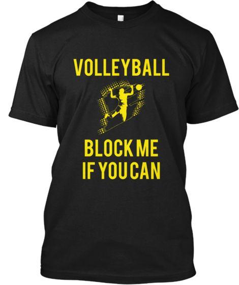 VolleyballBlockMeIfYouCan | Teespring