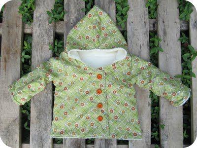 Missy N.: Omkeerbaar jasje: handleiding. Ofte Chic Hooded Kimono #3.