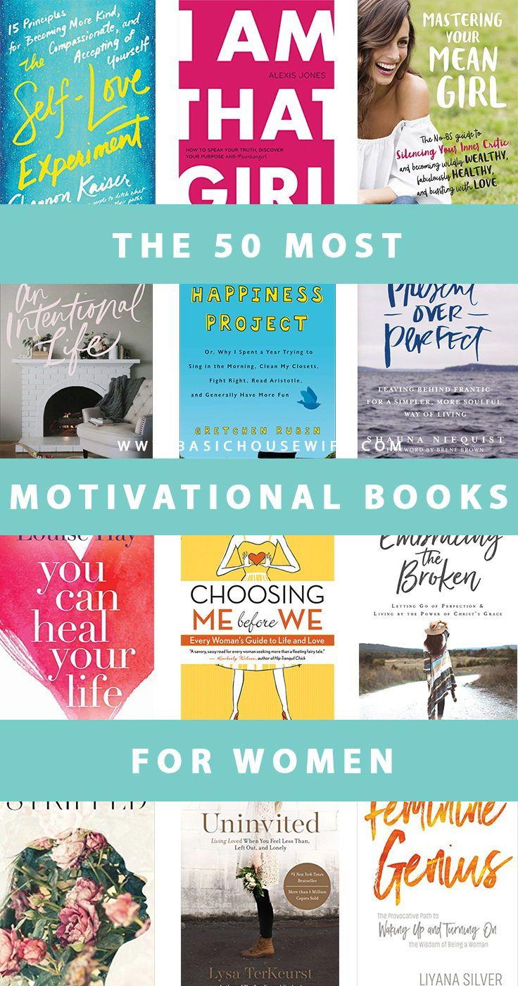 50 Motivational Books for Women | Best Books 2018 | Must