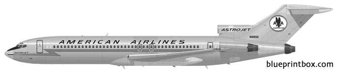 boeing 727 200 02 - BlueprintBox.com - Free Plans and Blueprints of Cars, Trailers, Ships, Airplanes, Jets, Scifi and more...