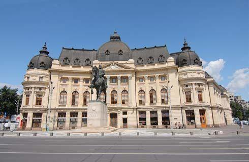 Biblioteca Central Universitară face parte din grupul de clădiri ale fostelor Funaţii Regale, actual numite Palatul Fundaţiei Universitare Carol I. În prezent, în interior funcţionează cea mai importantă bibliotecă universitară din România, fiind un centru de cercetare şi studiu atât pentru studenţi, cât şi pentru pasionaţii de cultură.