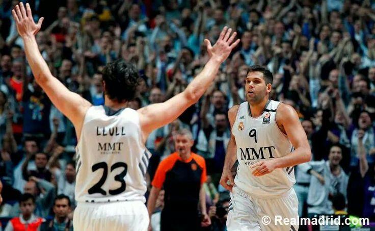 ..._Sergio Llull & Felipe Reyes. Real Madrid Basketball