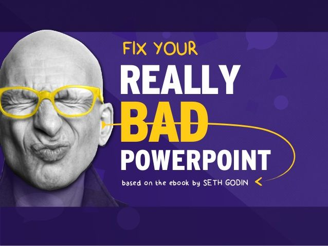 17 best images on pinterest fix your really bad powerpoint by slidecomet based on an ebook by thisissethsblog fandeluxe Choice Image
