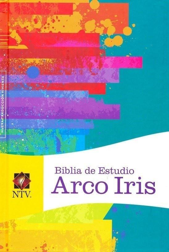 Biblia de Estudio Arco Iris NTV, Enc. Dura (NTV Rainbow Study Bible, Hardcover)
