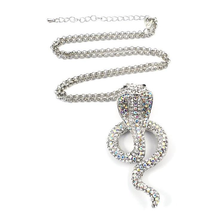 Mikey London Crystal Snake Bracelet