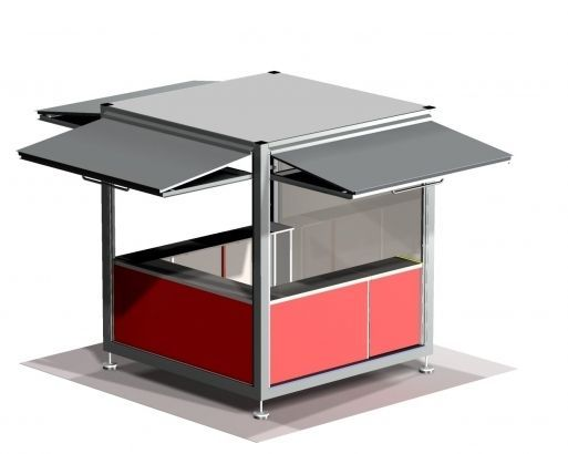 17 best ideas about kiosk design on pinterest container for Exterior kiosk design