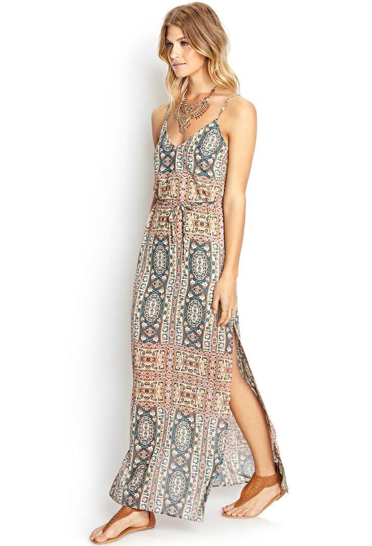 Hollywood Regent Maxi Dress | FOREVER21 #Spring #MaxiDress #SpringBreak