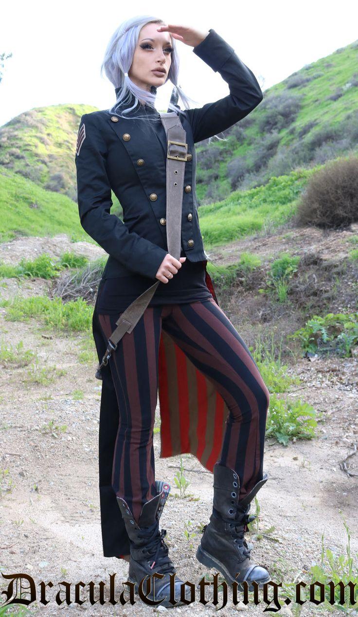 Civil War Jacket - SteampunkCouture - Ladies Clothing