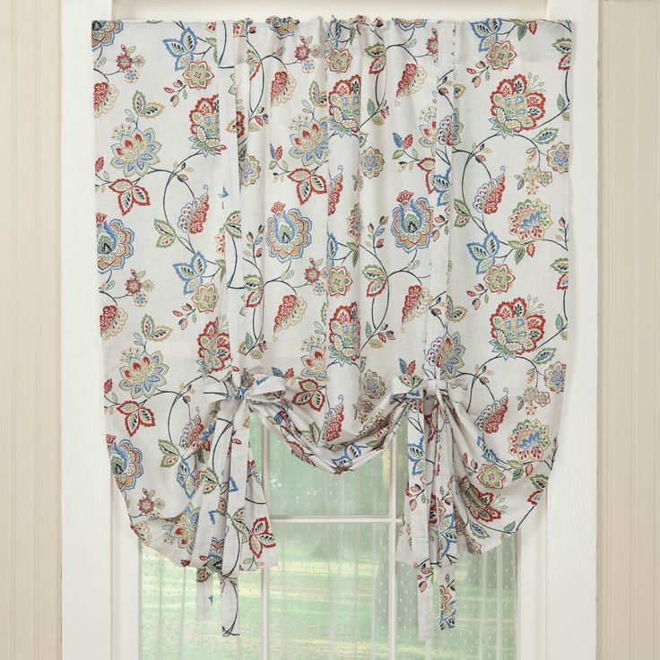 Country Style Curtains the Caroline in Multiple Sizes   Sturbridge Yankee Workshop $30 for 84-in. panel or for tie shade