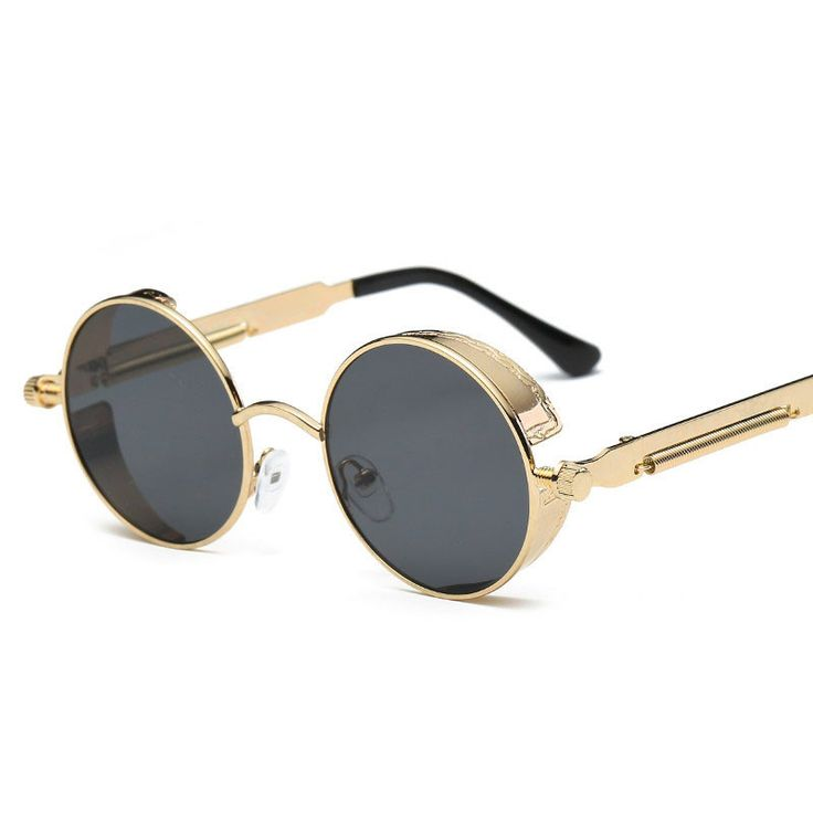 CVOO Sunglasses Men Male Vintage Steam Punk Sunglass Women Hip Hop Glasses Eyewear UV400 Lunettes De Soleil NgAN34do