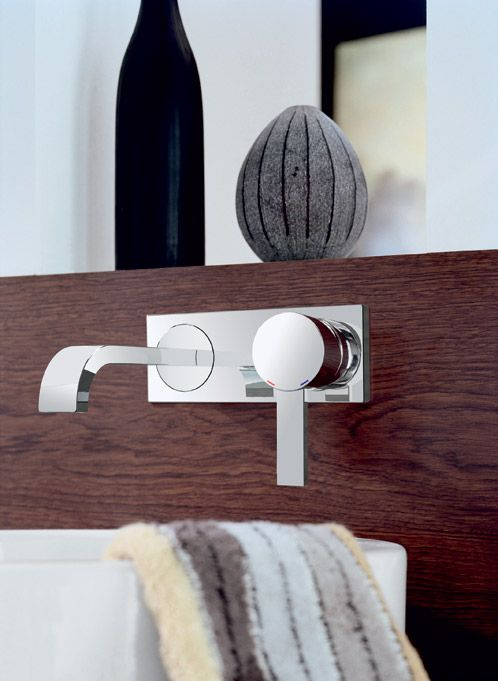 Allure Wall Mounted Basin Mixer 						 						Sizes  						 						NA