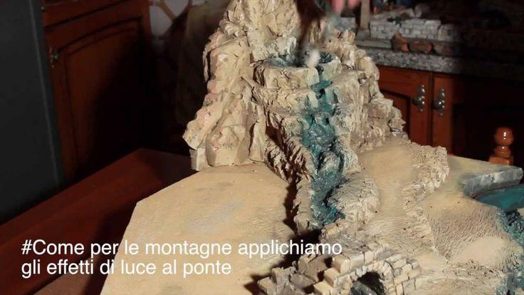 Dipingere ponte, case ed oggetti del presepe - Parte11