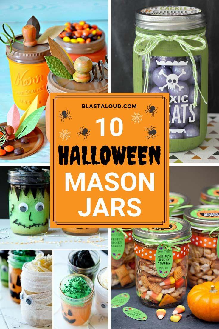 10 Halloween Mason Jar Gift Ideas That You Would Never Think Of Halloween Mason Jars Halloween Mason Jar Gifts Halloween Mason Jars Diy