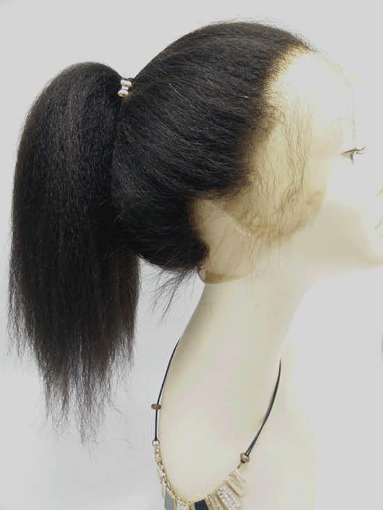 Brazilian virgin 360 Lace Frontal closure kinky straight-[LF999] - Bea Hairs