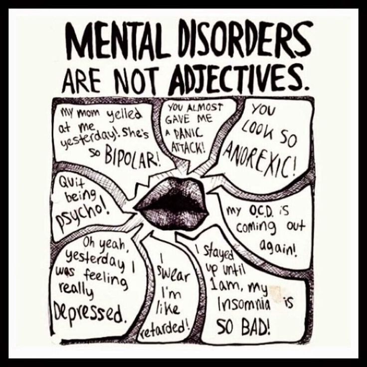 """""""Mental Illness is nothing to be ashamed of, but the stigma and bias shame us all."""" - Bill Clinton"""