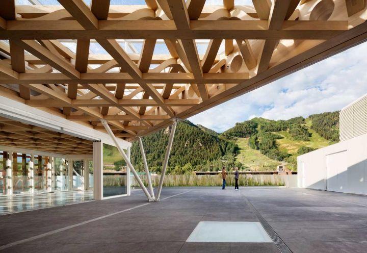 Il progetto del celebre architetto giapponese sulle Montagne Rocciose negli Stati Uniti.