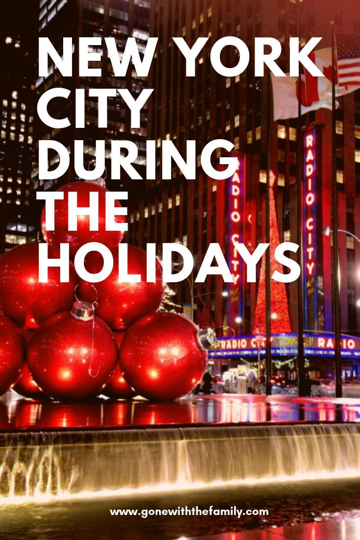 11 Festive Ways to Celebrate the Holidays in New York City in 2018 ...