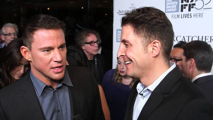 "Channing Tatum at the ""Foxcatcher"" NYFF Premiere #InTheLab with @ArthurKade"
