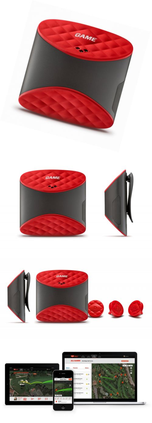 Other Golf Training Aids 14109: Game Golf Digital Shot Tracking System, Red Black -> BUY IT NOW ONLY: $124.29 on eBay!