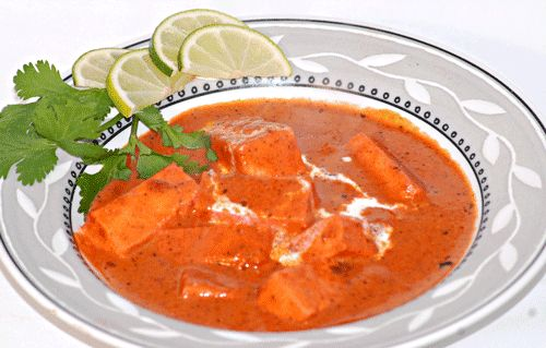 Paneer Butter Masala is a delicious dish in which succulent cubes of Indian Cottage Cheese are cooked in thick creamy, tangy gravy.