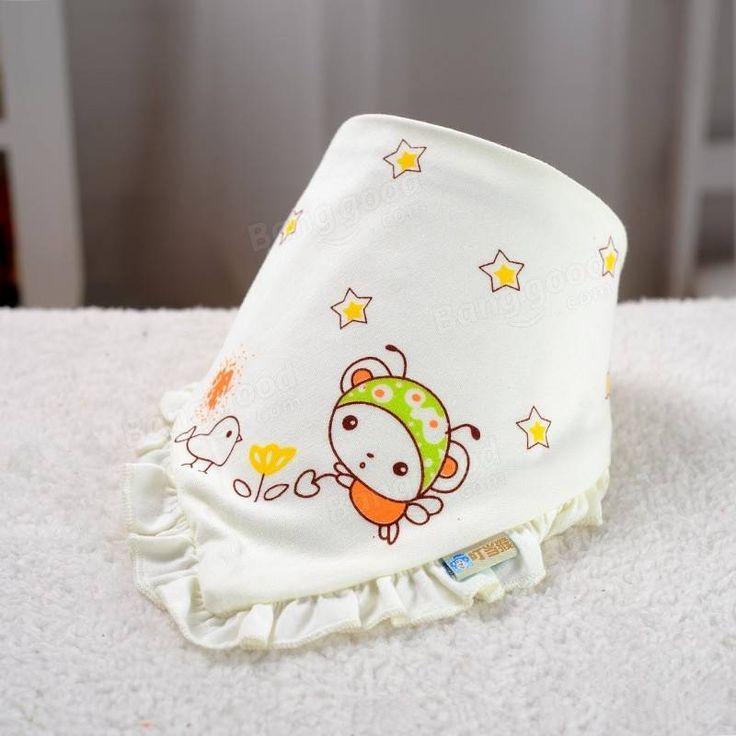 Хлопка ребенка нагрудники для кормления животных мило нагрудник отрыжка полотенце фартук девочка мальчик младенец капать на Banggood sold out